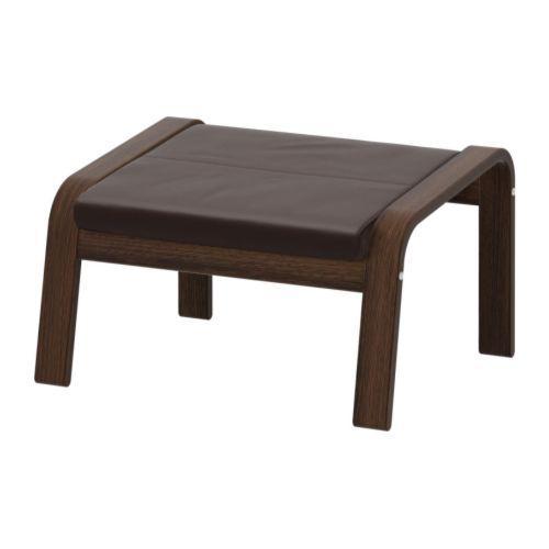 ПОЭНГ Табурет для ног - Робуст темно-коричневый, коричневый