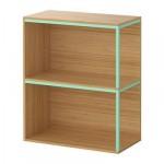 ИКЕА ПС 2014 Комбинация для хранения - бамбук/светло-зеленый