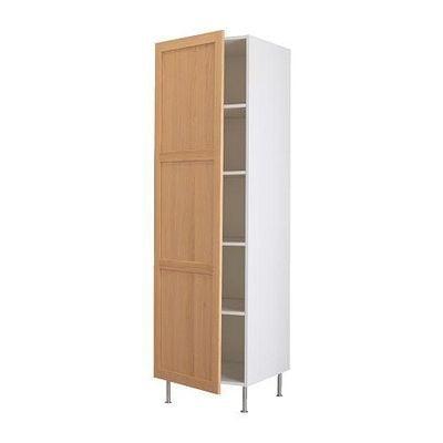 ФАКТУМ Высок шкаф с полками - Тидахольм дуб, 40x211 см