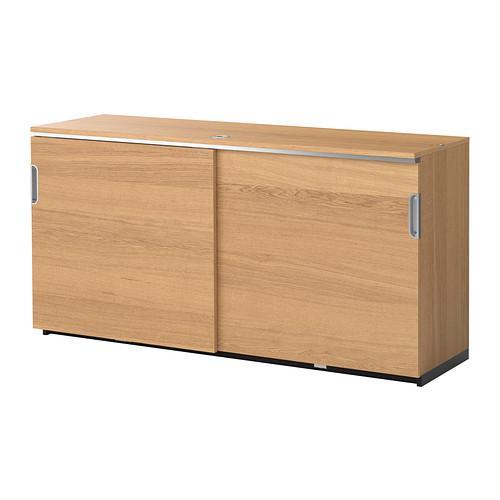 galant schrank mit schiebet ren eichenfurnier bewertungen preis wo kaufen. Black Bedroom Furniture Sets. Home Design Ideas
