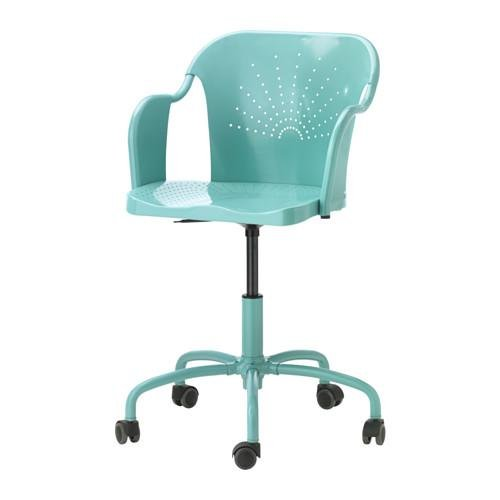 Roberget Office Chair Turquoise