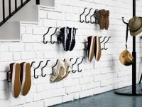 Coole Idee für die offene Lagerung und Trocknen von Schuhen