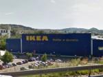 IKEA Saint-Etienne - alamat kedai, masa kerja, peta laluan