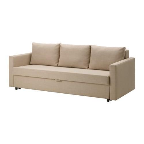 Divano Letto Ikea Friheten.Friheten 3 Seat Divano Letto Shiftebu Beige 104 115 53