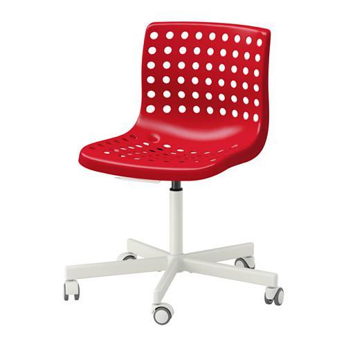 СКОЛБЕРГ / СПОРРЕН Рабочий стул - -, красный/белый