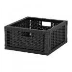 БРАНЭС Корзина - черный, 32x35x16 см