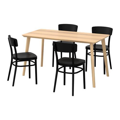 4 Table Et Lisabö Chaises Idolf fY6g7byv