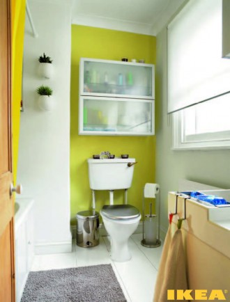 Sisätilojen kylpyhuone IKEA