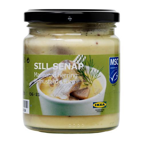 SILL SENAP Сельдь маринованная в горчич соусе