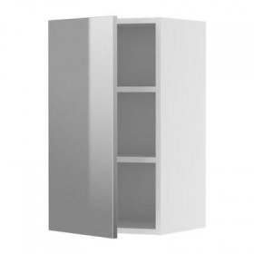 FAKTUM cabinets Wall - Rubrik stainless steel, 40x70 cm