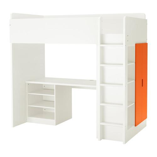 Hochbett Regal stuva hochbett regal 2 2 türen weiß orange 891 795 65