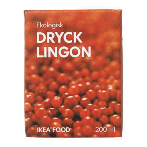Drikke Lingon Tyttebær drikke
