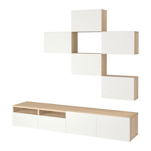 Ikea Tv Meubel Combinatie.Besta Tv Meubel Combinatie Grijs 092 665 14 Recensies Prijs