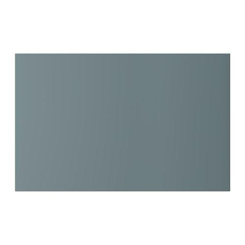 ВАЛЬВИКЕН Дверь/фронтальная панель ящика - серо-бирюзовый