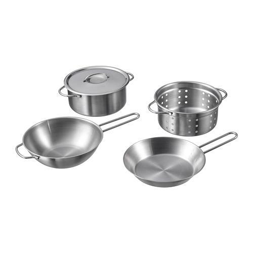 ДУКТИГ Набор кухонной посуды,4 предмета