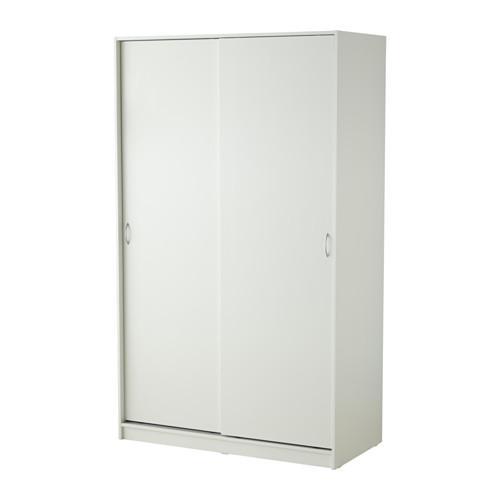 ТОДАЛЕН Гардероб с 2 раздвижными дверцами - белый