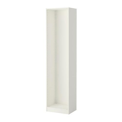 ПАКС Каркас гардероба - белый, 50x35x201 см