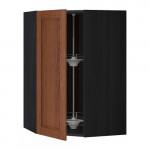 МЕТОД Угл нвсн шкф с вращающ секц - 68x100 см, Филипстад коричневый, под дерево черный
