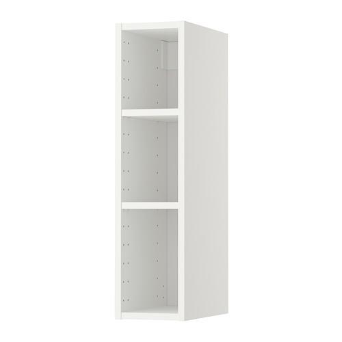 МЕТОД Каркас навесного шкафа - белый, 20x37x80 см