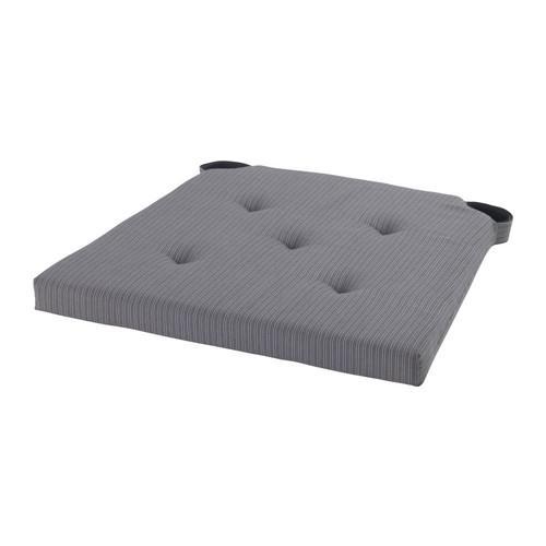ЮСТИНА Подушка на стул - серый
