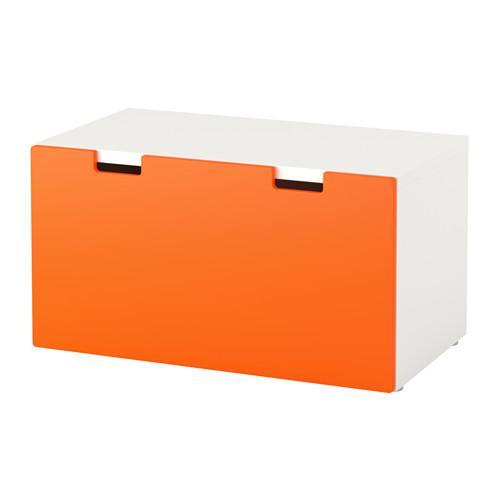 Peachy Stuva Bench With Drawer White Orange 291 671 55 Cjindustries Chair Design For Home Cjindustriesco
