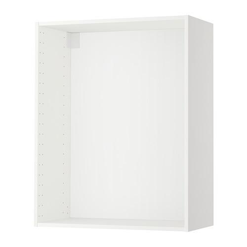 МЕТОД Каркас навесного шкафа - 80x37x100 см, белый