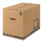 JÄTTENE упаковочная коробка коричневый