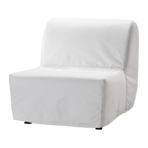 ЛИКСЕЛЕ ЛЁВОС Кресло-кровать - Ранста белый, Ранста белый