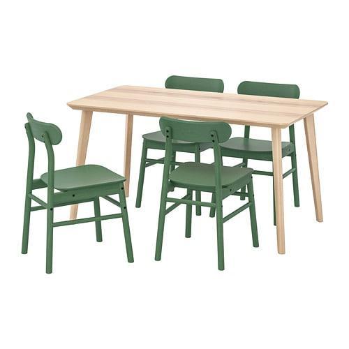 Ikea Eettafel 4 Stoelen.Lisabo Ronninge Tafel En Stoel 4 192 971 24 Recensies Prijs