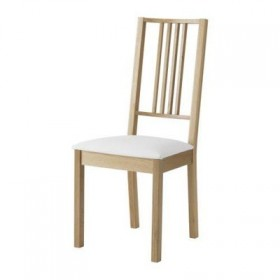 Börje chair - oak / Gobo white