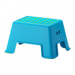 Bolm stool-ladder - blue