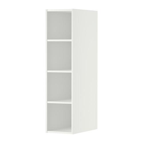 ХОРДА Открытый шкаф - 20x37x80 см, белый