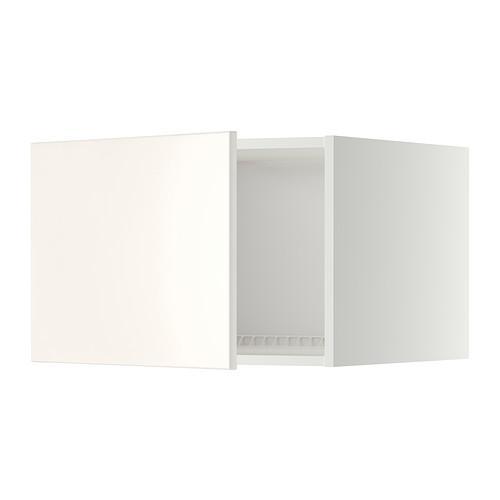МЕТОД Верх шкаф на холодильн/морозильн - 60x40 см, Веддинге белый, белый