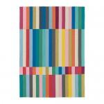 HALVED ковер, безворсовый ручная работа разноцветный