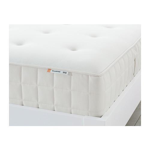 ХИЛЛЕСТАД Матрас с пружинами карманного типа - 160x200 см, жесткий/белый