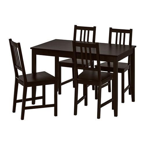 LERHAMN STEFAN bord och 4 stol (392.968.97) recensioner