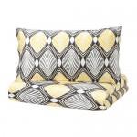HESTFIBLA Duvet cover and 1 pillowcase - 150x200 / 50x70 cm