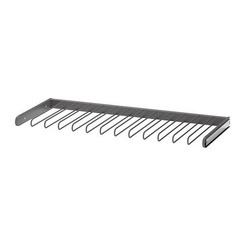 КОМПЛИМЕНТ Выдвижная вешалка для брюк - темно-серый, 100x35 см