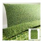 СМОРБОЛЬ Пододеяльник и 2 наволочки - зеленый, 200x200/50x70 см