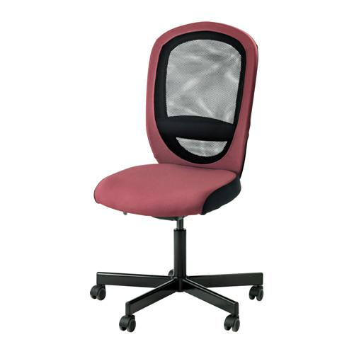ФЛИНТАН Рабочий стул - Хавгульт темно-розовый