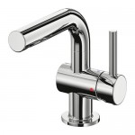 SVENSKÄR sink mixer with chrome-plated release