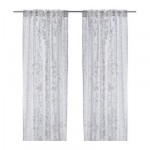 Ophelia Blood curtains, 2 pc
