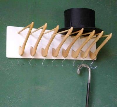DIY-hanger from hanger BUMERANG IKEA