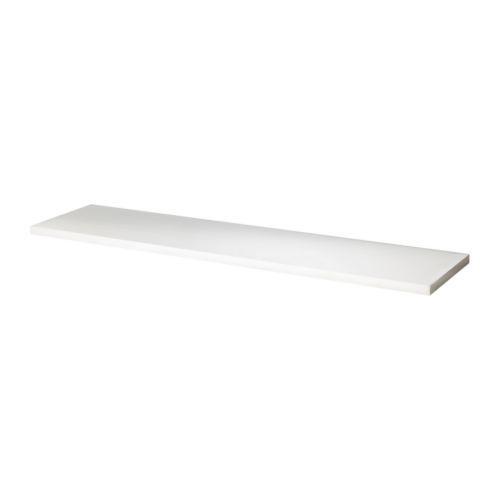 ЭКБИ ЕРПЕН Полка - белый, 119x28 см