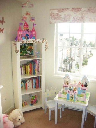 Fairy bedroom for a princess with HENSVIK
