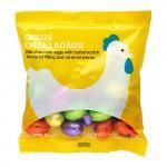 GODIS CHOKLADÄGG Шоколадные яйца с ирисом
