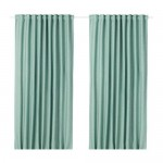 VILBORG blackout curtains, 1 pair