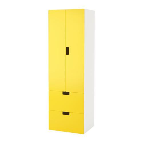 stuva combi f r lagerung mit t ren schubladen wei gelb bewertungen preis. Black Bedroom Furniture Sets. Home Design Ideas