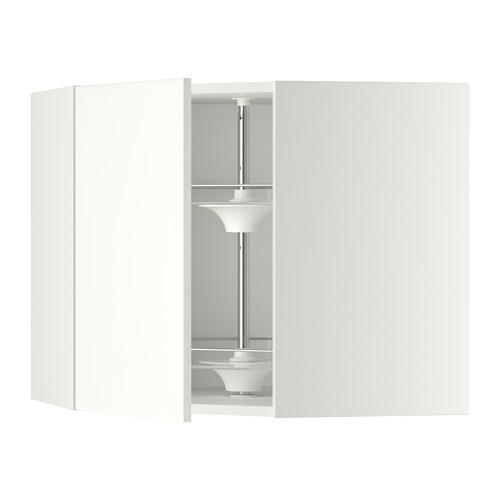 МЕТОД Угл нвсн шкф с вращающ секц - 68x60 см, Хэггеби белый, белый