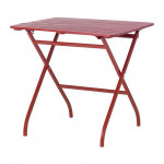 Mälaren Garden table - red